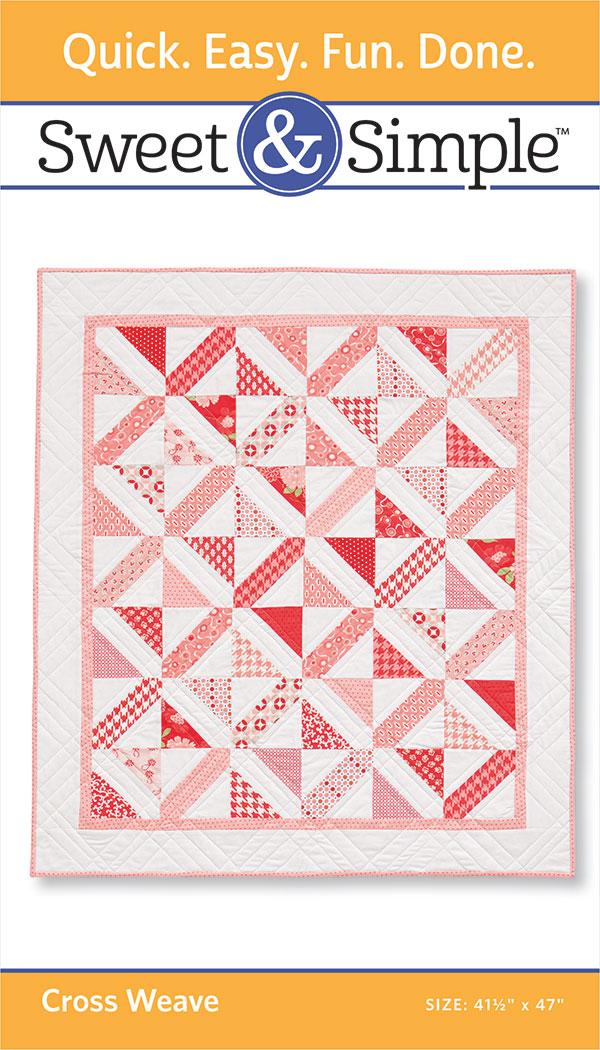 Sweet & Simple Cross Weave