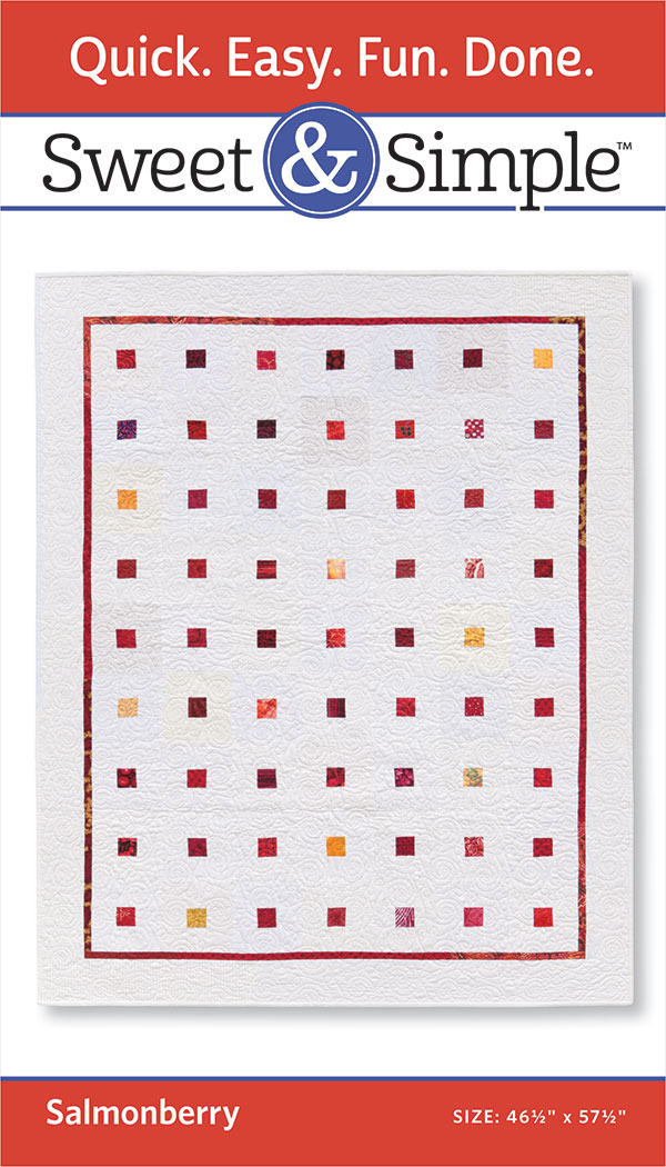 Sweet & Simple - Salmonberry Pattern