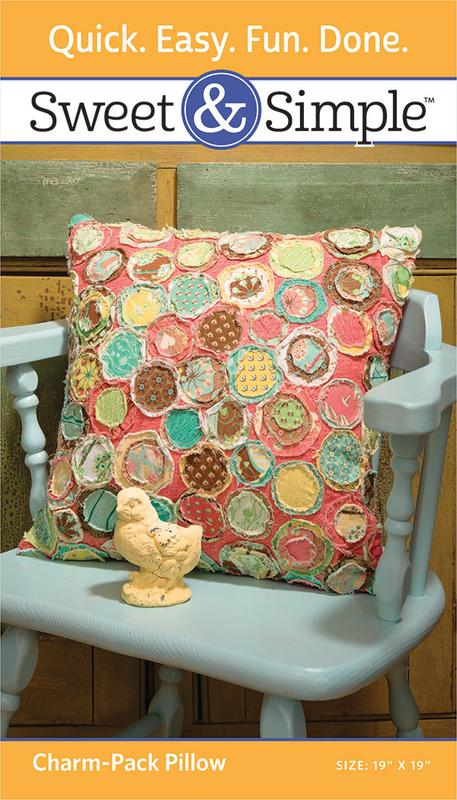 Charm Pack Pillow Pattern