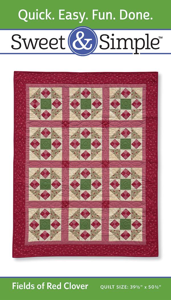 Sweet & Simple - Fields Of Red Clover Pattern