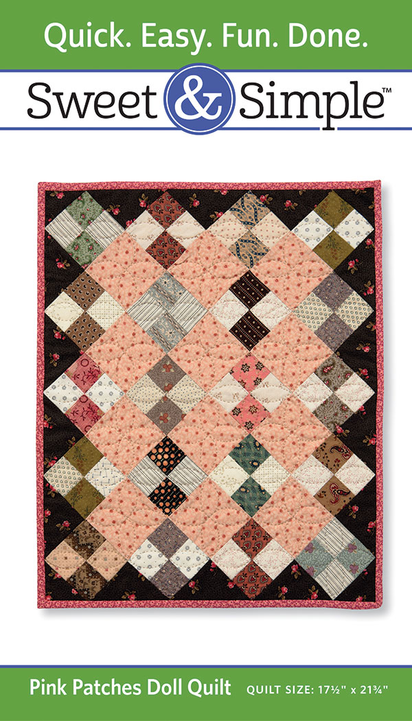 Sweet & Simple Pink Patches Dol