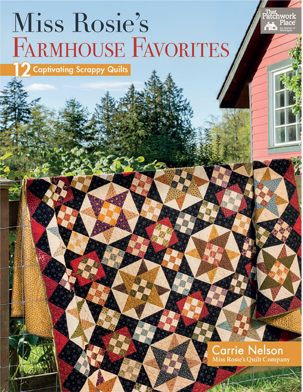 Miss Rosie's Farmhouse Favorites - Martingale - B1400