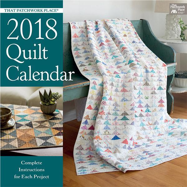 TPWP Quilt Calendar 2018