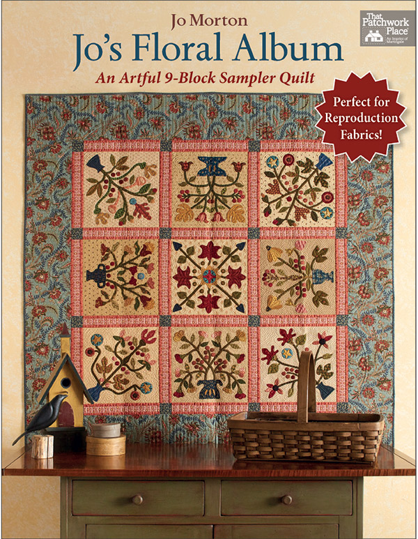 The Patchwork Place/Martingdale Jos Floral Album