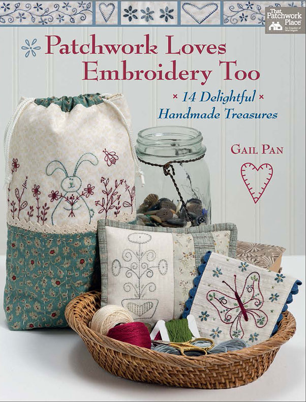 Patchwork Loves Embroidery