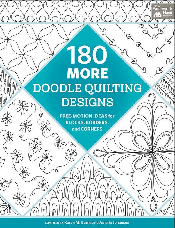 BK Q 180 More Doodle Quilting Design