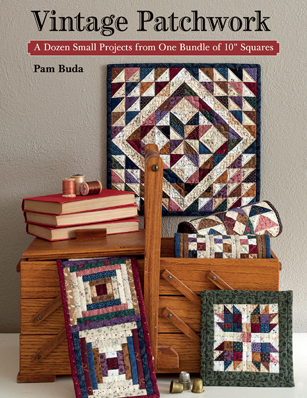 Vintage Patchwork - by Pam Buda