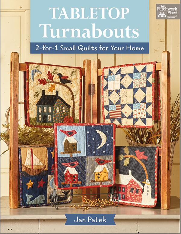 Tabletop Turnabouts Pattern Book by Jan Patek