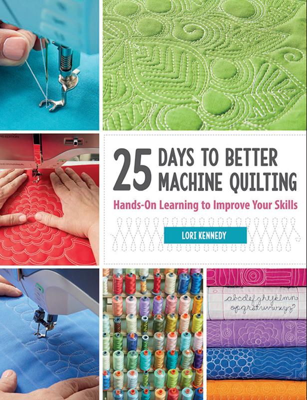 25 Days To Better Machine Quilt