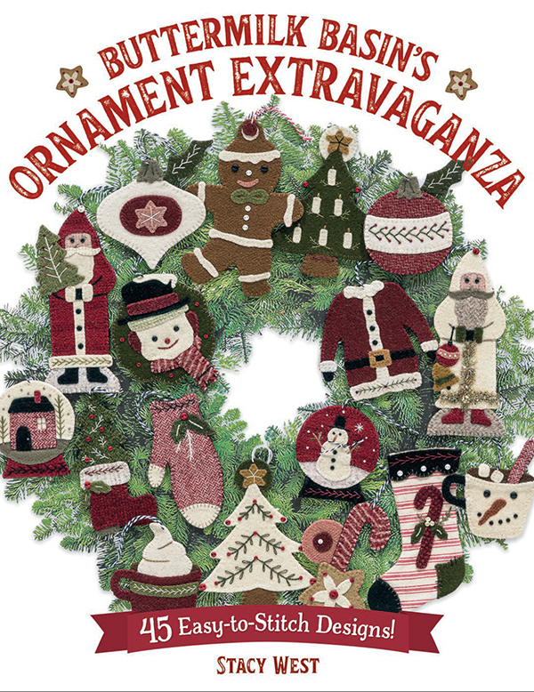 Buttermilk Basins Ornament Extr