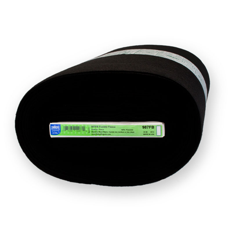 Pellon - 987FP  Fusible Fleece 45 - Black
