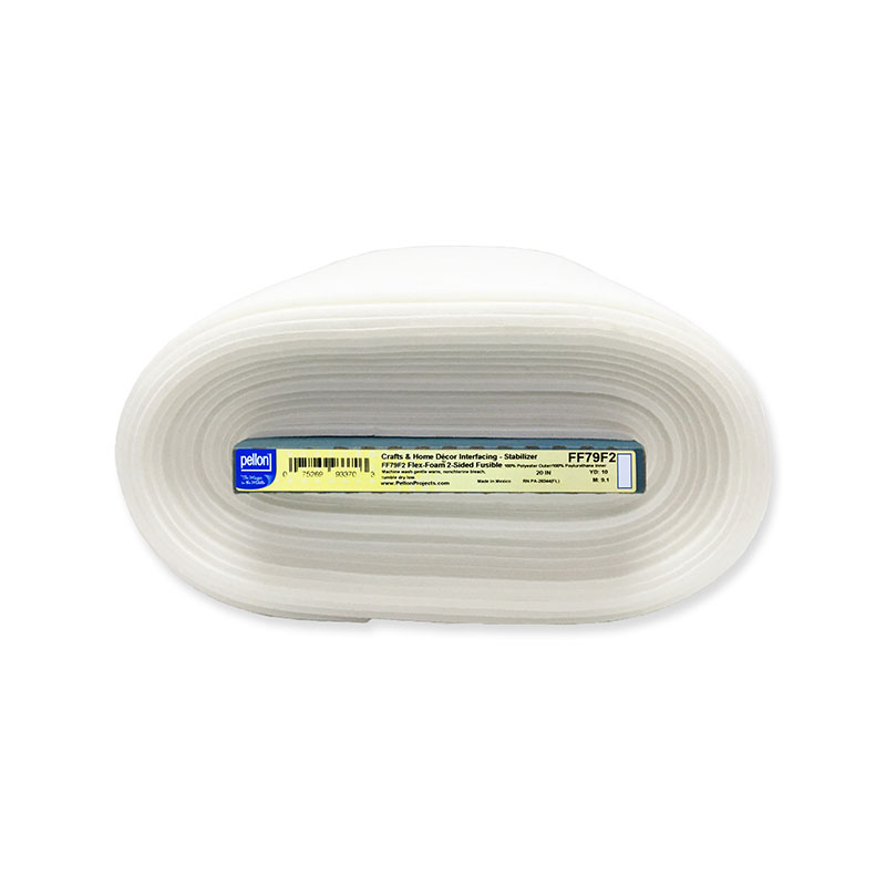 flex foam 2 sided fusible