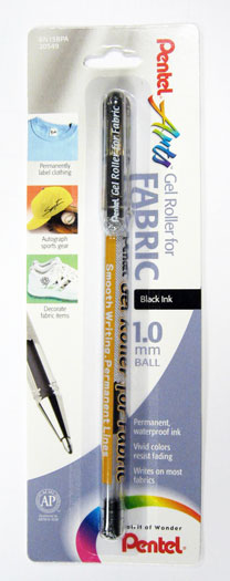 Gel Roller For Fabric Black