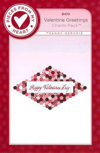 Valentine Greetings - Panel Pattern