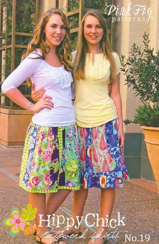 Pink Fig Patterns Hippy Chick Skirts