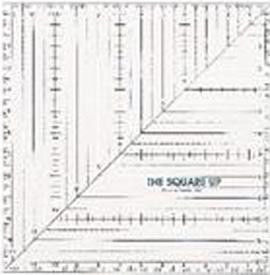 Square Up Ruler 9.5x9.5