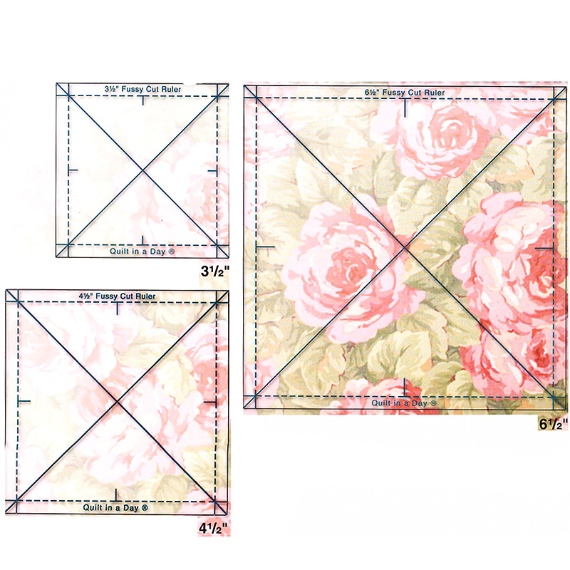 Quilt in a Day - Three ussy Cut Ruler Set