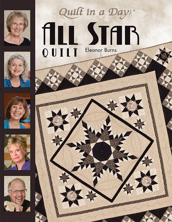 All Star Quilts Book by Quilt in a Day