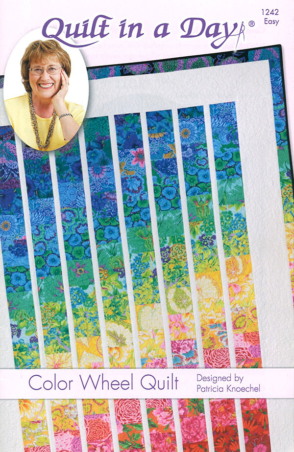 Color Wheel Quilt Pattern by Quilt in a Day