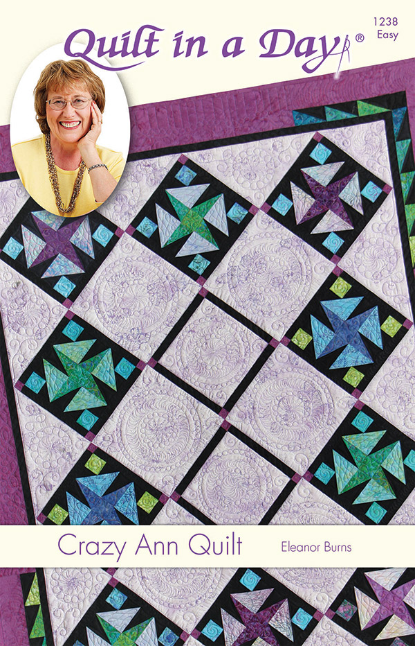 Crazy Ann Quilt Pattern by Quilt in a Day