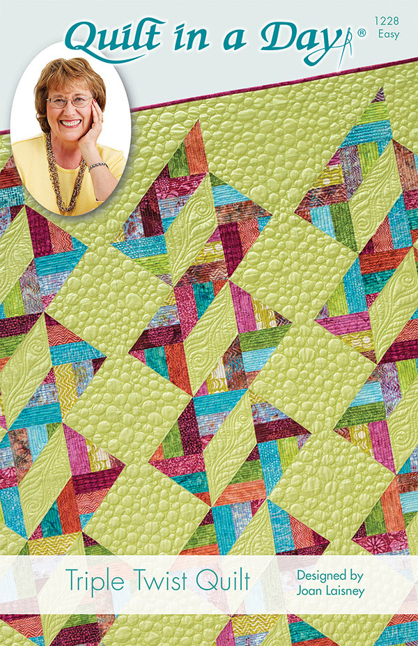 Triple Twist - Quilt in a Day - 1228