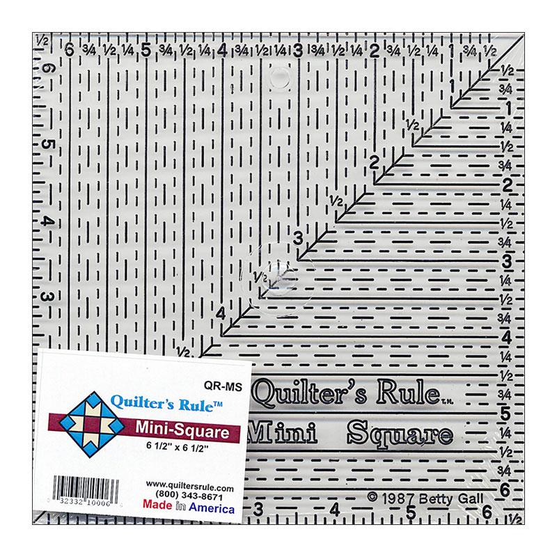 Mini Square Ruler 6 1/2X 6.5