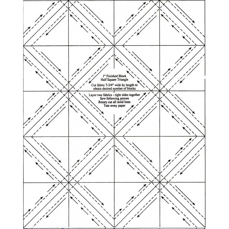 Half Square Triangles 1
