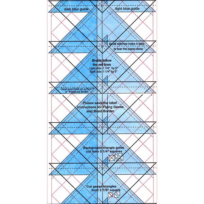 Sew & Fold On A Roll 2 X 4