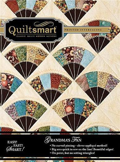 Quiltsmart Grandma's Fan - 9 panels with instructions