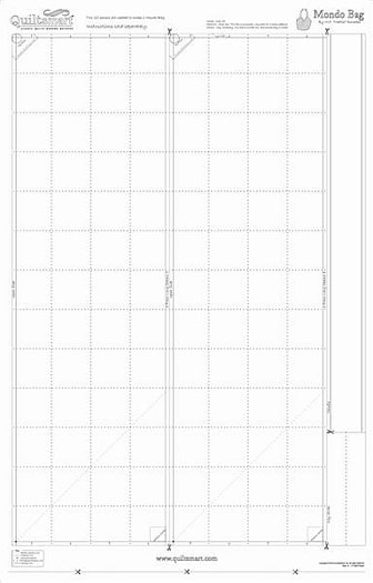 Quiltsmart Mondo Bag Extra Panels 65039