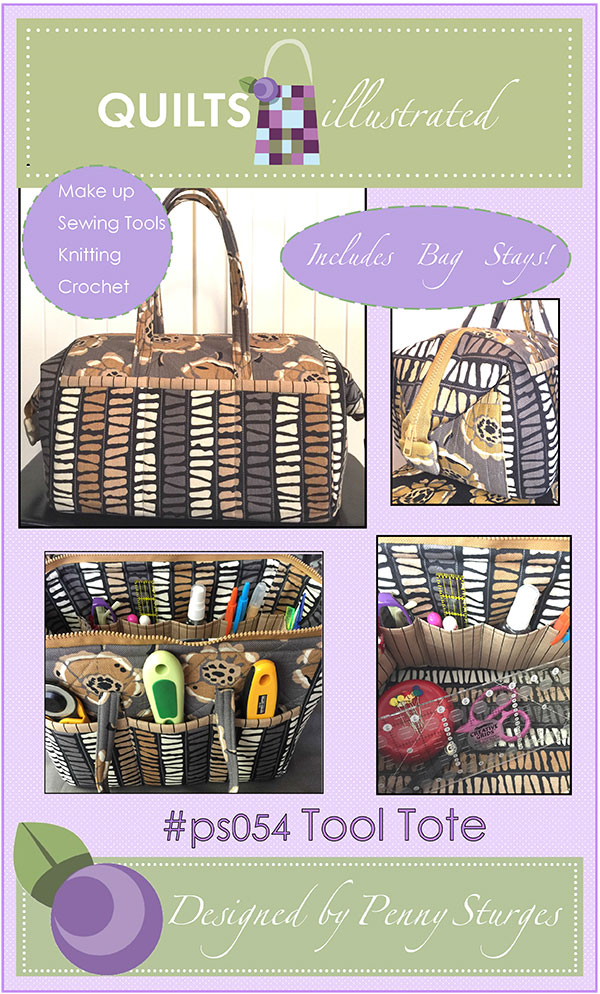Tool Tote - Pattern and (1) set of Metal Stays