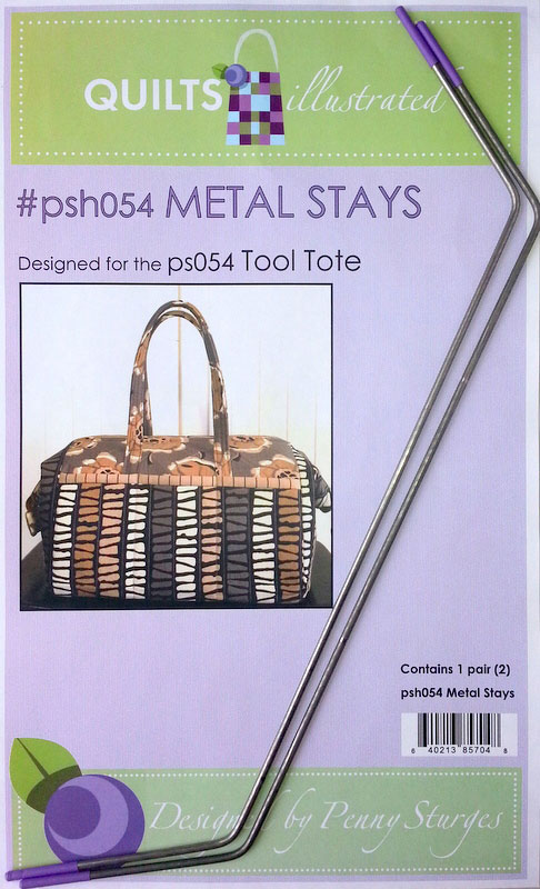 Tool Tote  or Boxy Tote Metal Stays