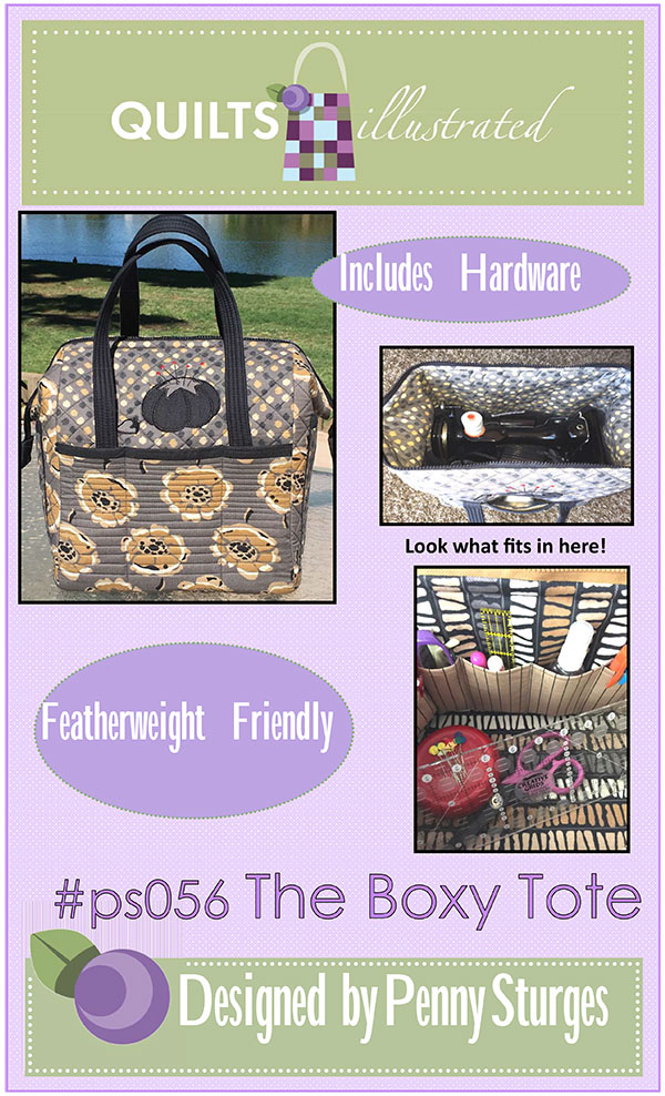 The Boxy Tote Pattern & Hardware