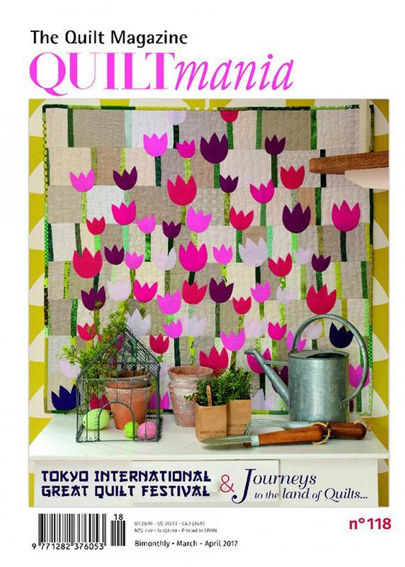Quiltmania Magazine #118 March-April 2017