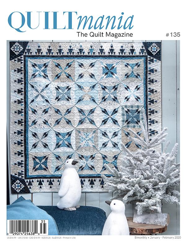 Quiltmania The Quilt Magazine N135