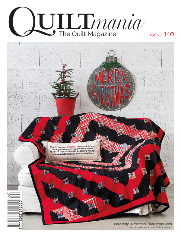 Quiltmania Magazine Nov Dec #140