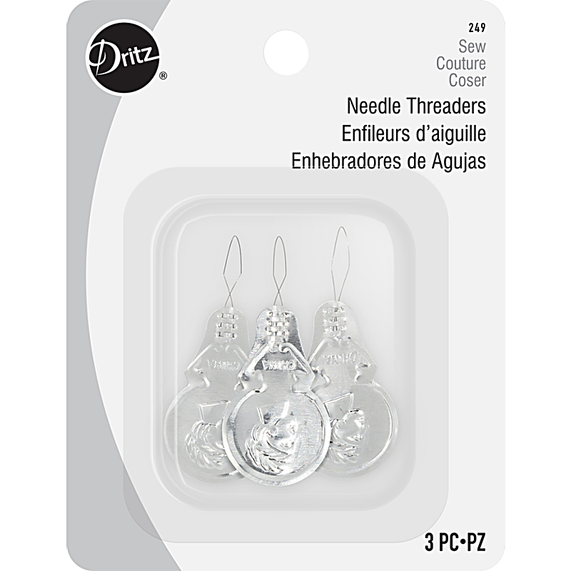 Wire Needle Threader 3 Ct