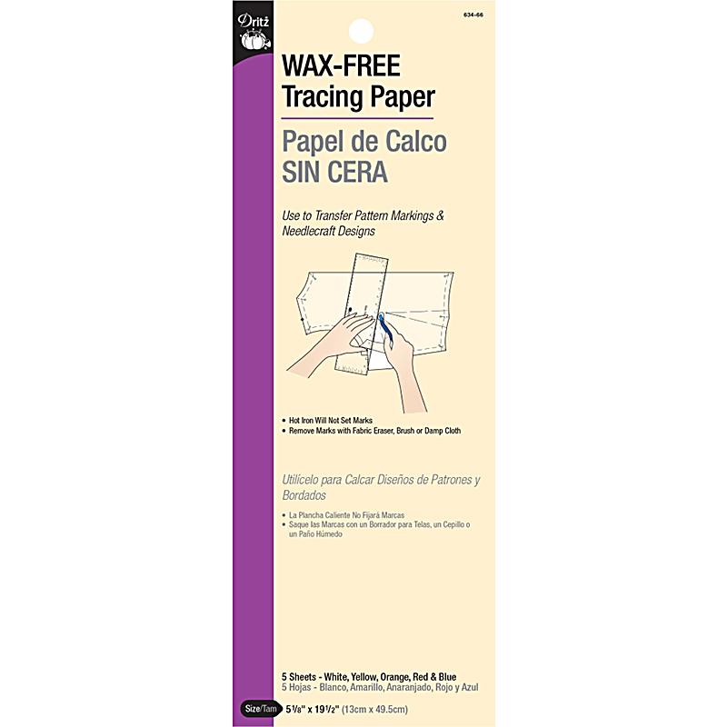 Wax Free Tracing Paper Asstd