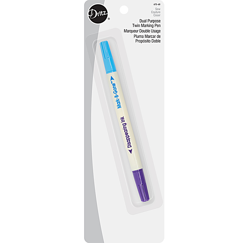 Dual Purpose Marking Pen Blue