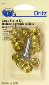 Dritz Large Eyelet Kit 1/4