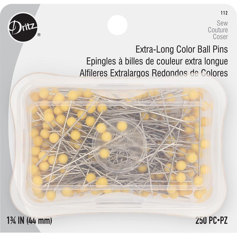 Color Ball Pins 1 3/4 250ct 112
