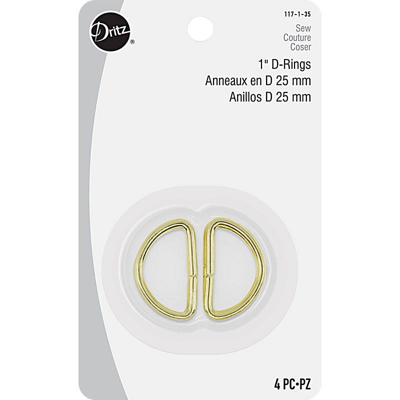 D-Rings 1 Gold 4ct