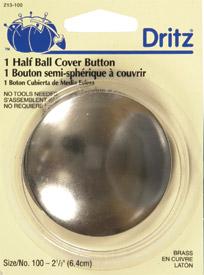 Button Cover Half Ball