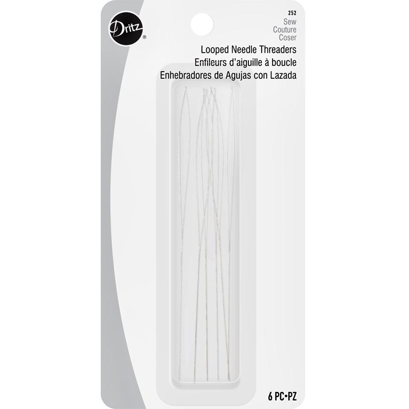 Looped Needle Threader 6ct 252
