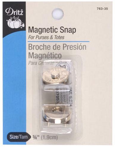 Magnetic Snaps 3/4 Gilt