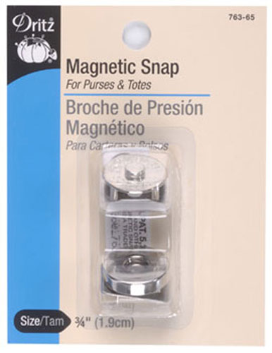 Magnetic Snaps 3/4 Nickel