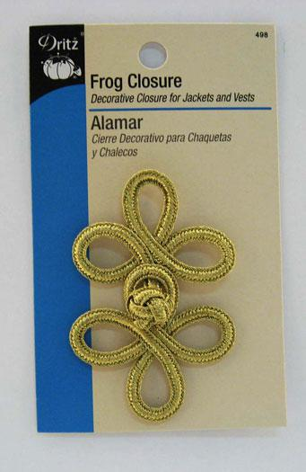 Notions Frog Closure Gold