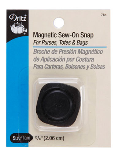 Magnetic Snaps Square Sew In