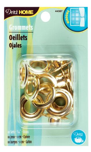 Grommets 7/16 10ct Refil Brass