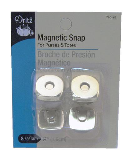 Magnetic Snap Square 3/4 Nckel
